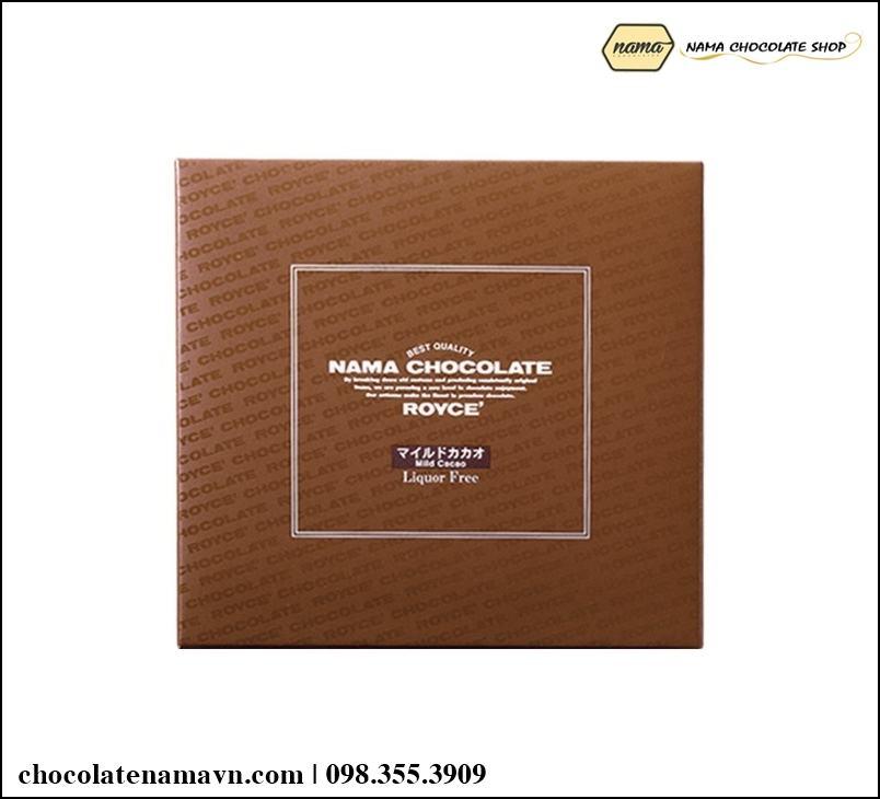 Nama Chocolate Mild Cacao truyền thống